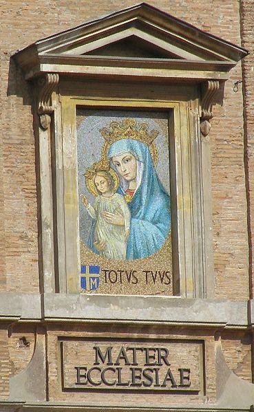 Archivo:Vaticano Mater Ecclesiae.jpg