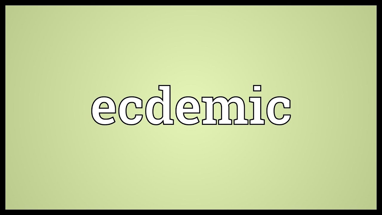 Ecdemic Meaning