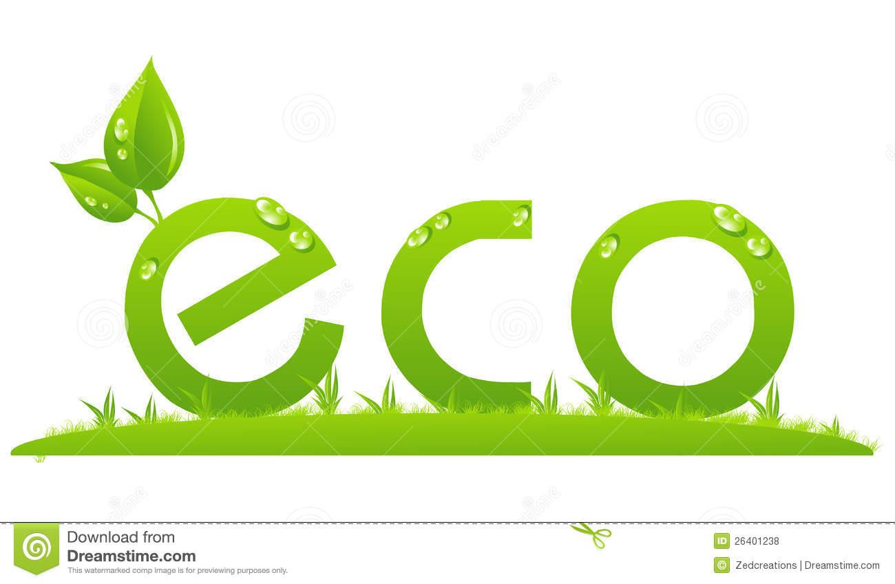 Ilustración del concepto de Eco en el fondo blanco