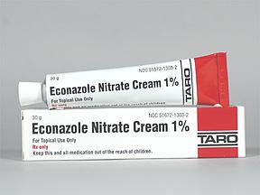 econazole 1 % topical cream