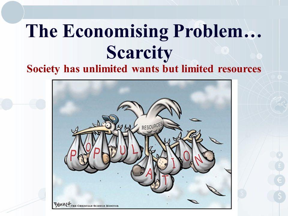 The Economising Problem…