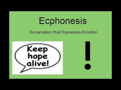 Rhetorical Devices in 30 Seconds - Ecphonesis