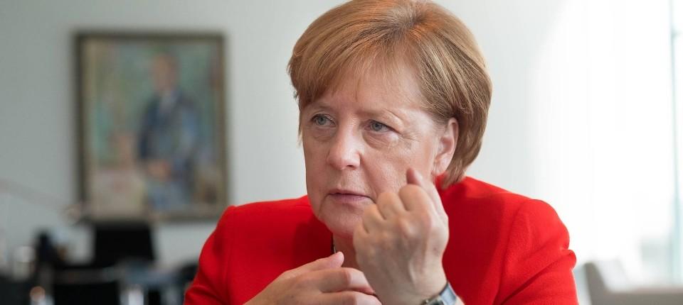 "Kanzlerin Angela Merkel F.A.S-Interview: ""Europa muss handlungsfähig sein"""