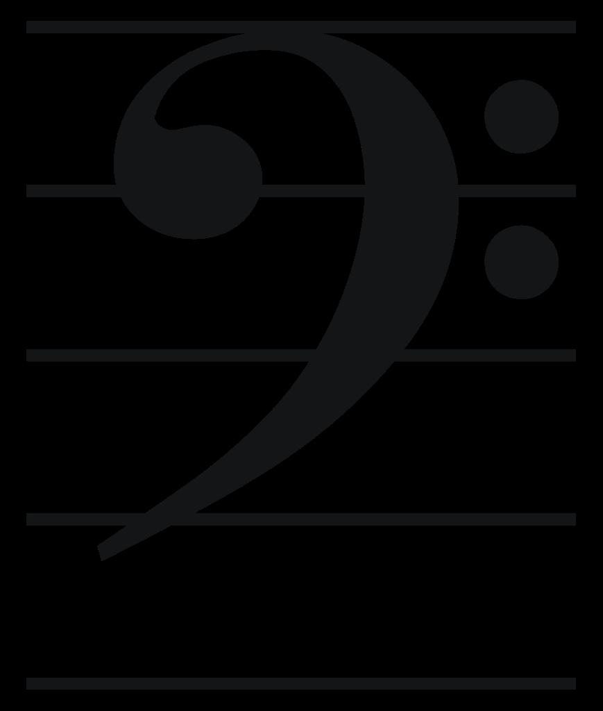 File:Bass clef.svg