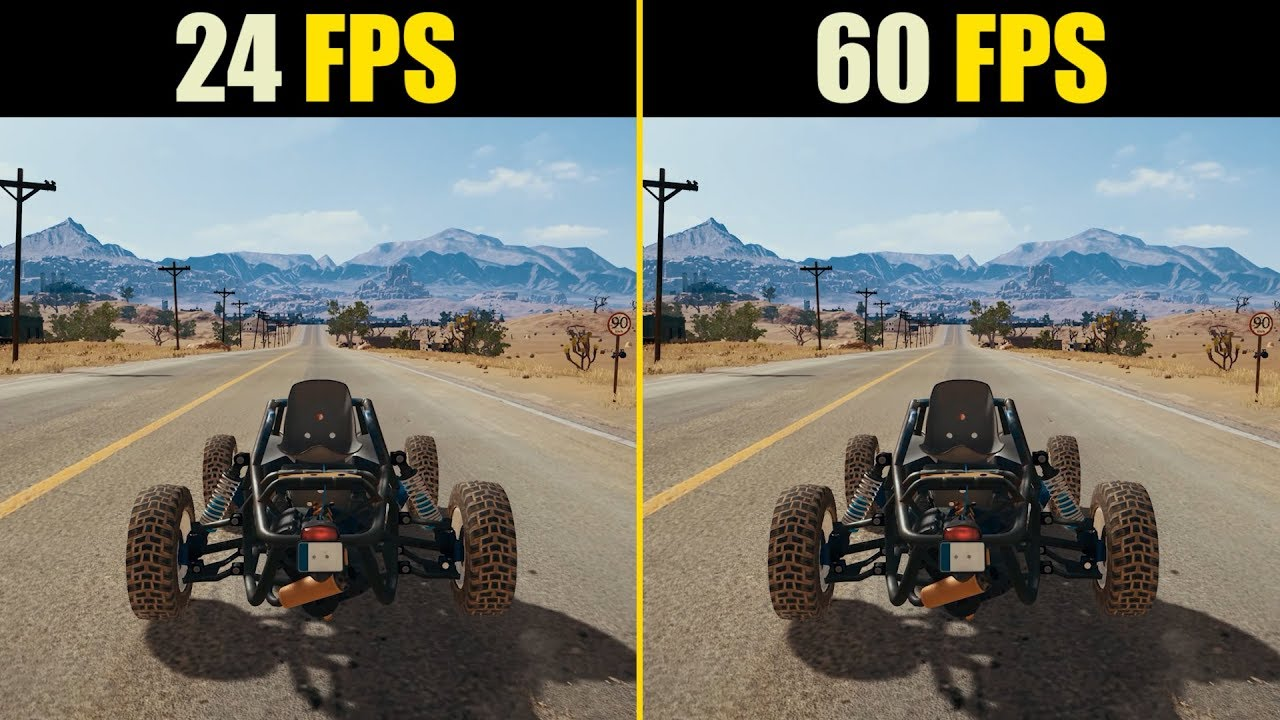 24 FPS vs. 60 FPS Gaming
