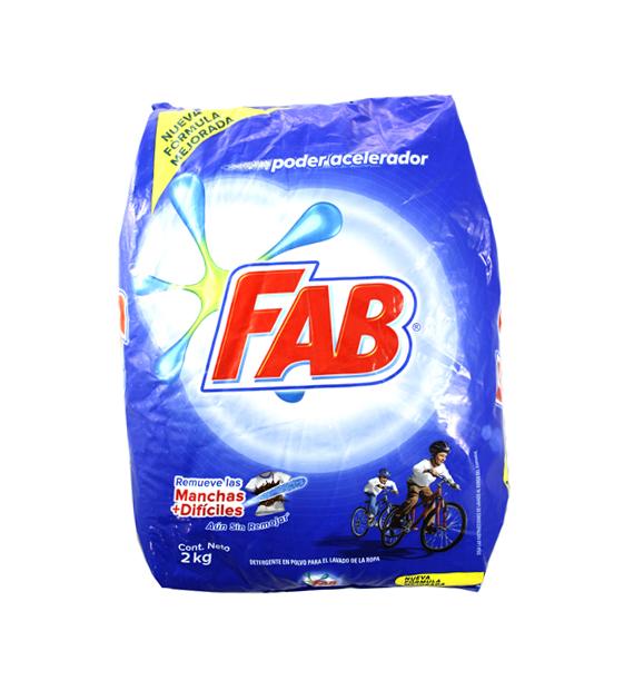 Detergente Fab *2 Kg