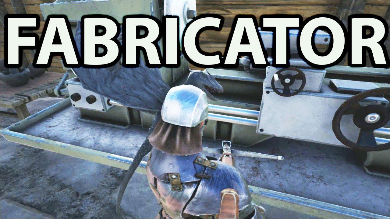 How to Make a Fabricator & Pistol Ark Survival Evolved