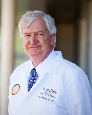 Stuart W. Jamieson, MB, FRCS, FACS, FACC, FACCP practices Cardiothoracic