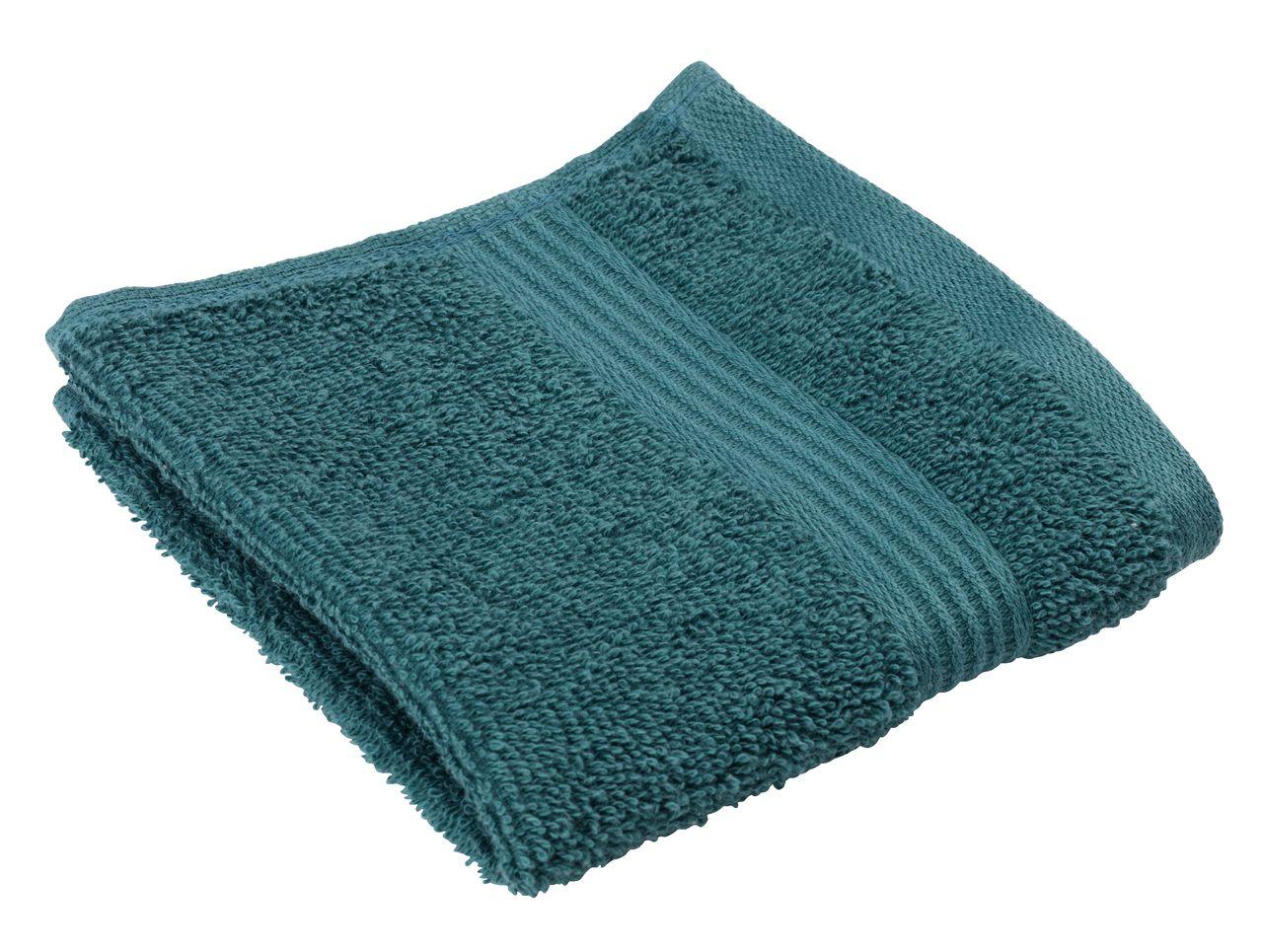 Face cloth KARLSTAD dark green KRONBORG