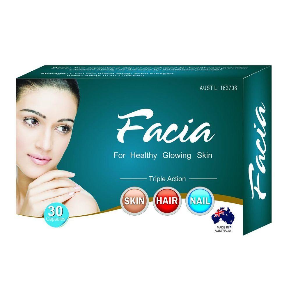 Facia Natural Healthy Supplement Treatment For Beautiful Skin-Hair and Nail  | eBay
