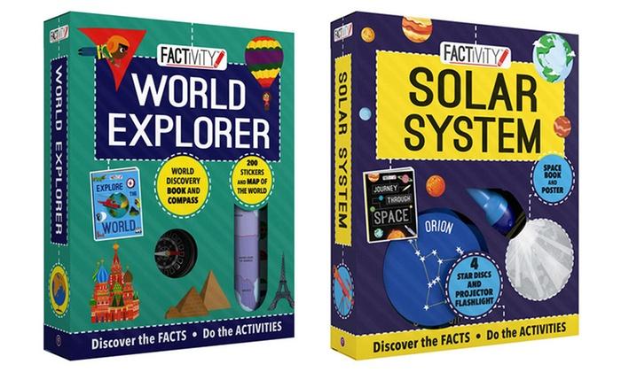 World Explorer & Solar System Factivity Kits (2-Pack)