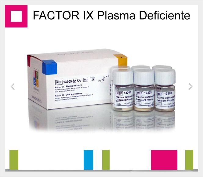 BIOLABO, FACTOR IX Plasma Deficiente