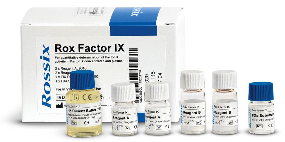 Kit for determination of Factor IX