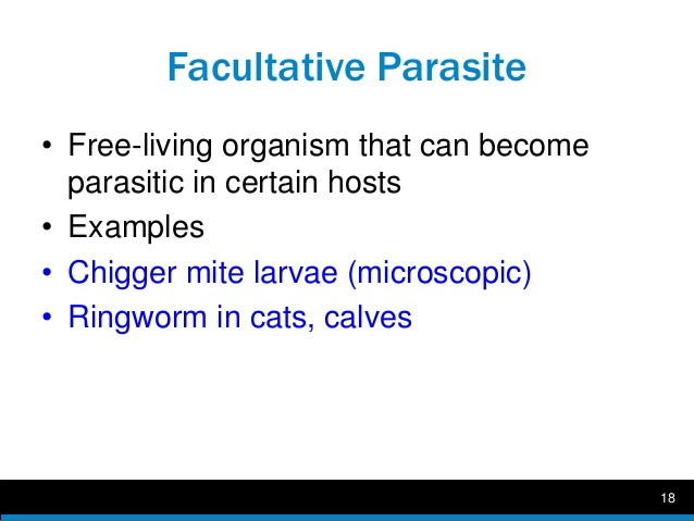 Facultative Parasite