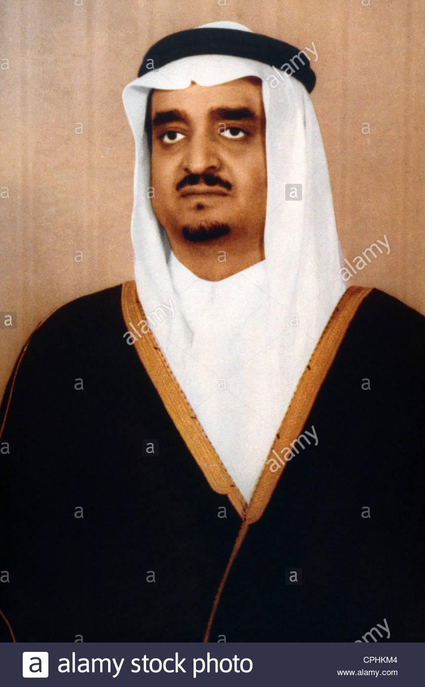 El Rey Fahd de Arabia Saudita