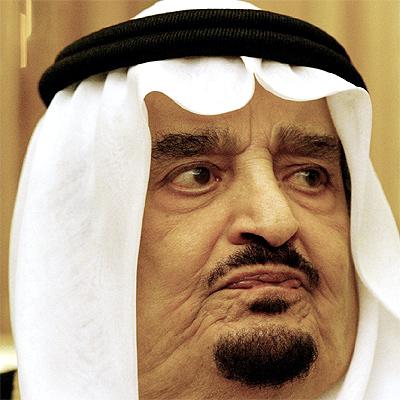 El monarca saudí, en una imagen tomada el 5 de octubre de 2003 durante una