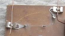 Fahnestock clip