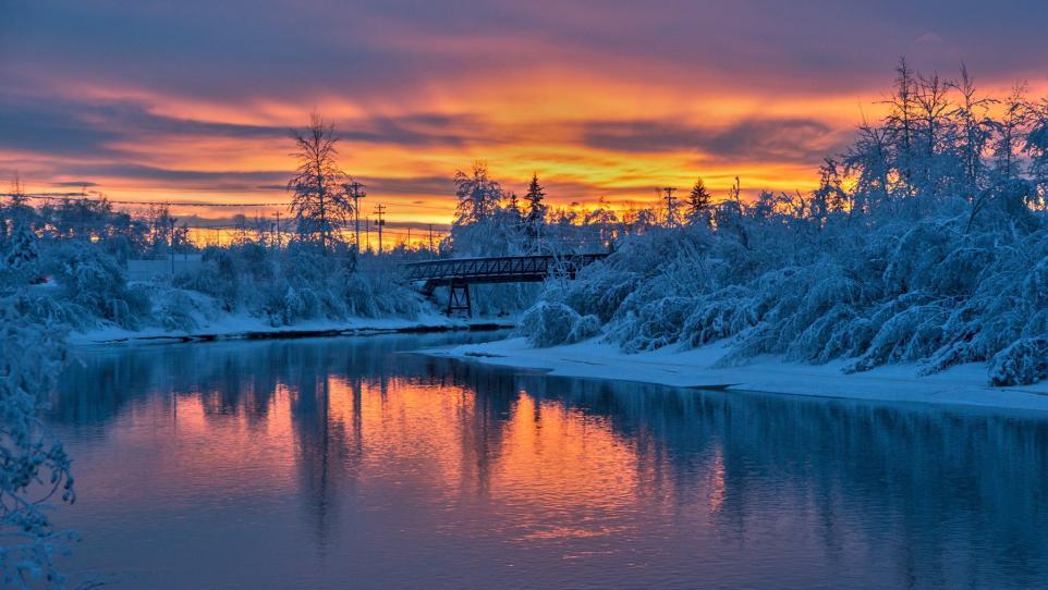 Picture Perfect Winter Scenes Around Fairbanks