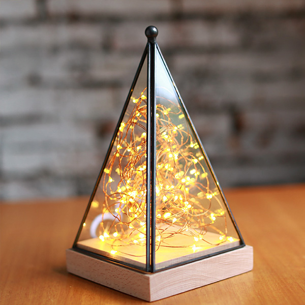 product thumbnail image for Pyramid Fairy Lamp