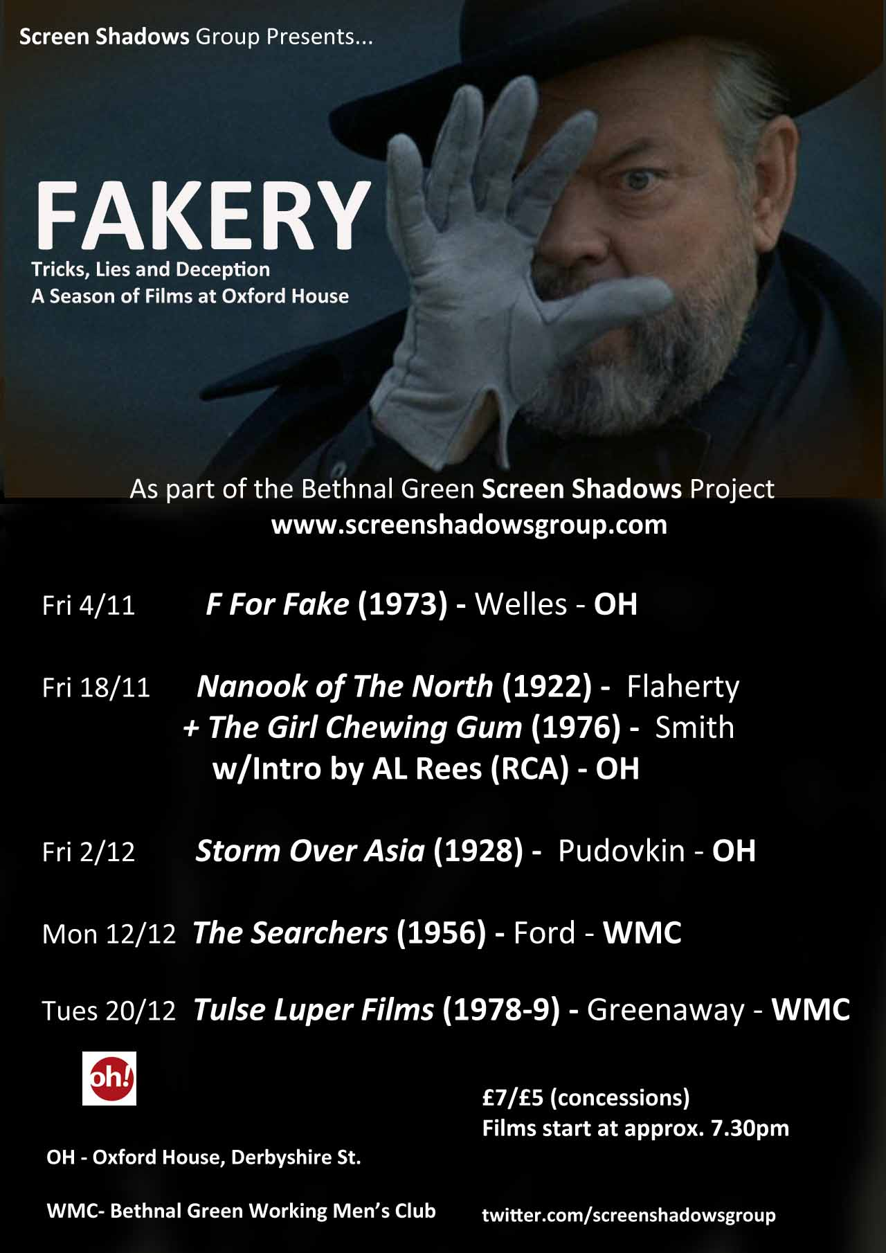Fakery. The