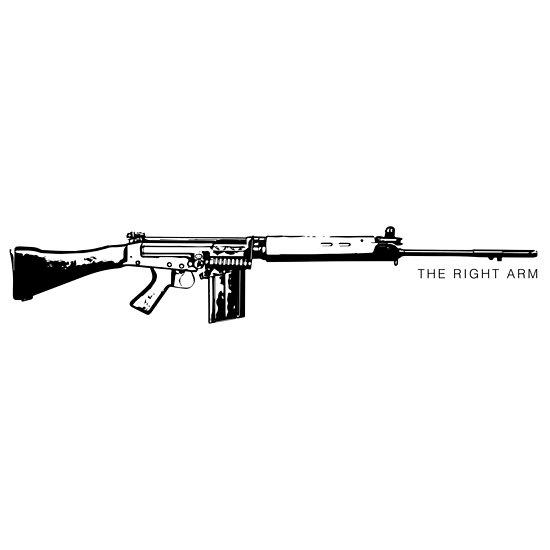 FN FAL - La camisa del brazo derecho