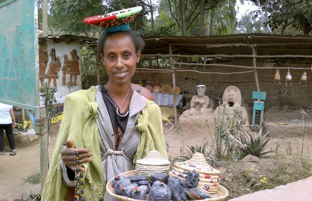 Poblado Falasha (Judios Etiopes)