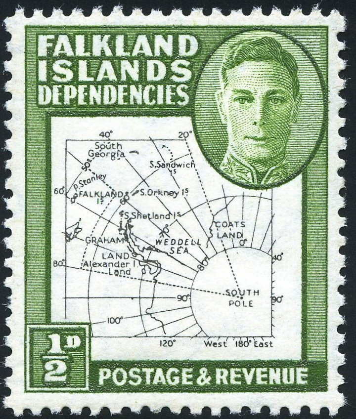 Postage stamps and postal history of the Falkland Islands Dependencies -  Wikipedia