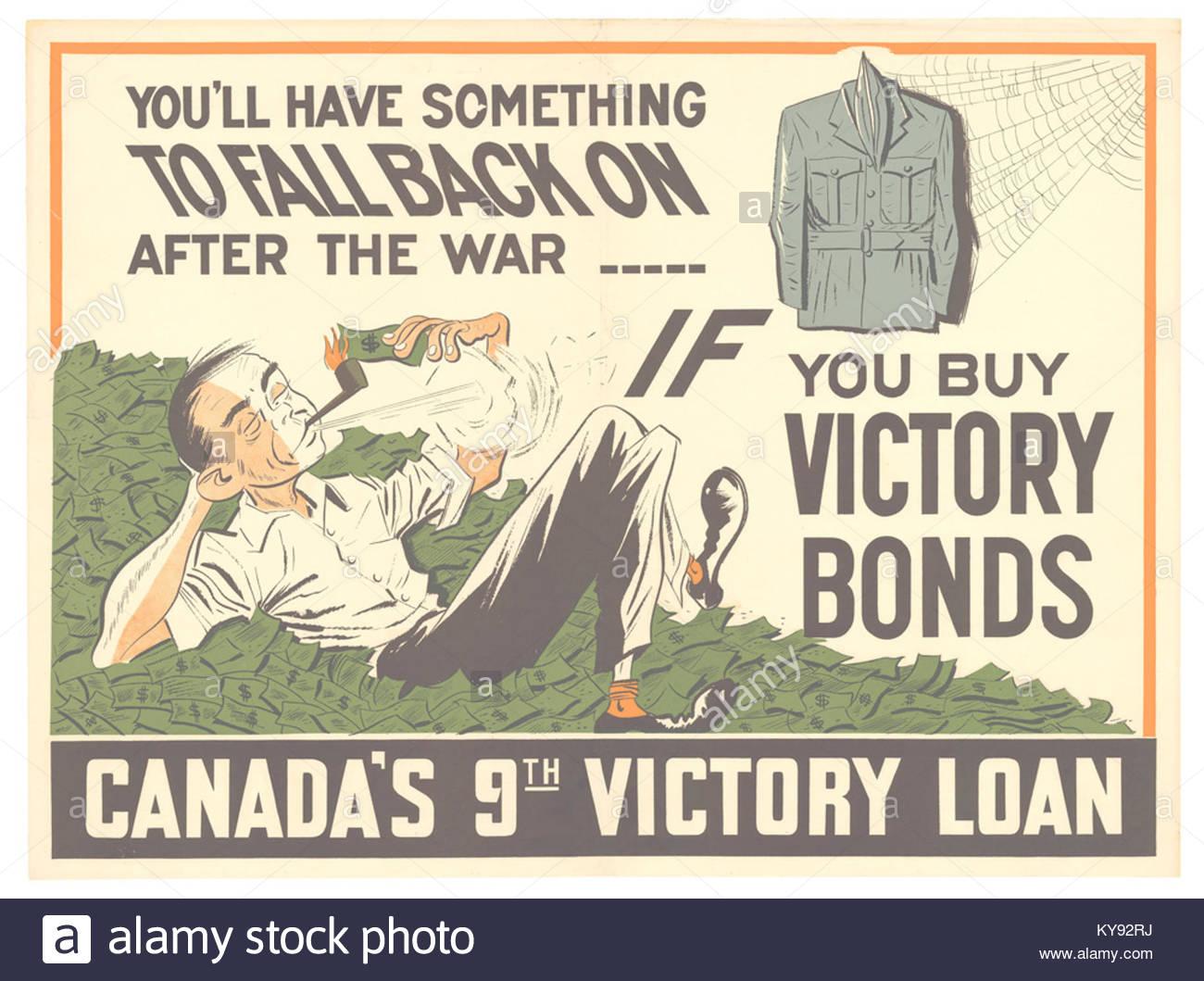 Usted tendrá algo para caer de nuevo después de la guerra Imagen De Stock