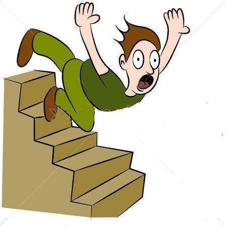 The Inevitability of Falling Down