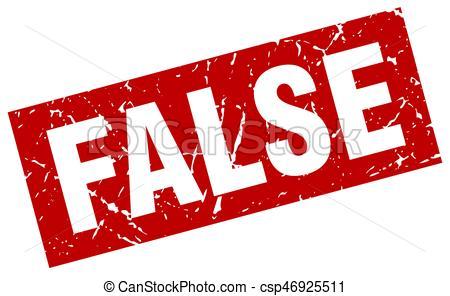 square grunge red false stamp - csp46925511