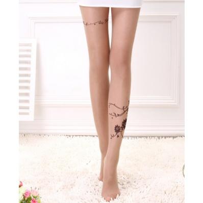 15 Denier Rose Cirrus Skinny False Tattoo Tights   ❤ socks   Pinterest    Tattoo tights, Skinny and Red lipsticks.