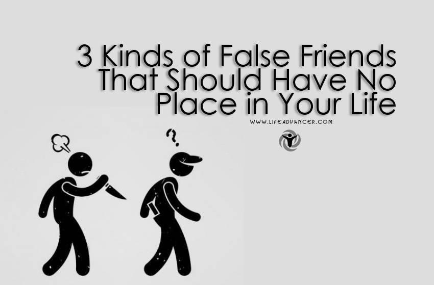 View Larger Image Kinds of False Friends 2