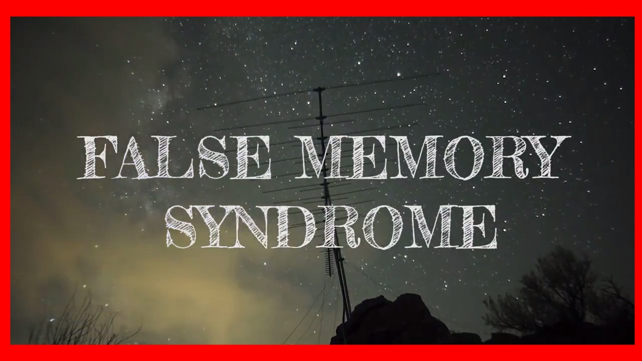 FALSE MEMORY SYNDROME   THE PSYCH WORD EPISODE 1