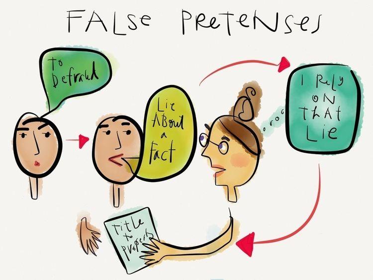False pretenses wwwlegaltechdesigncomvisualawlibrarywpcontent