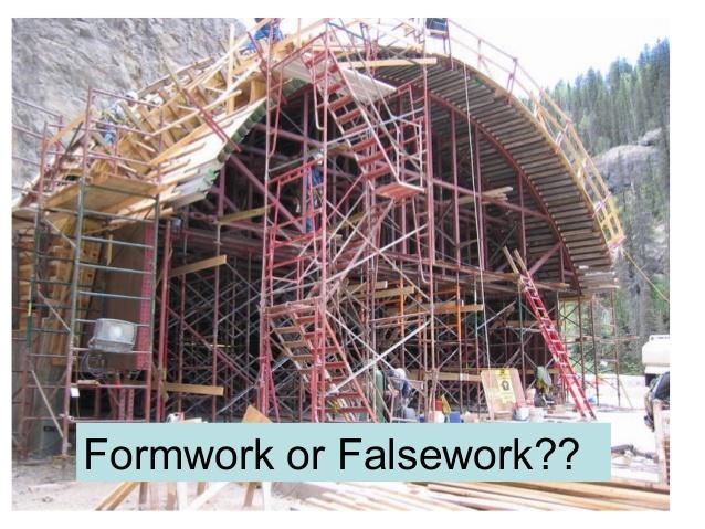 Formwork or Falsework??