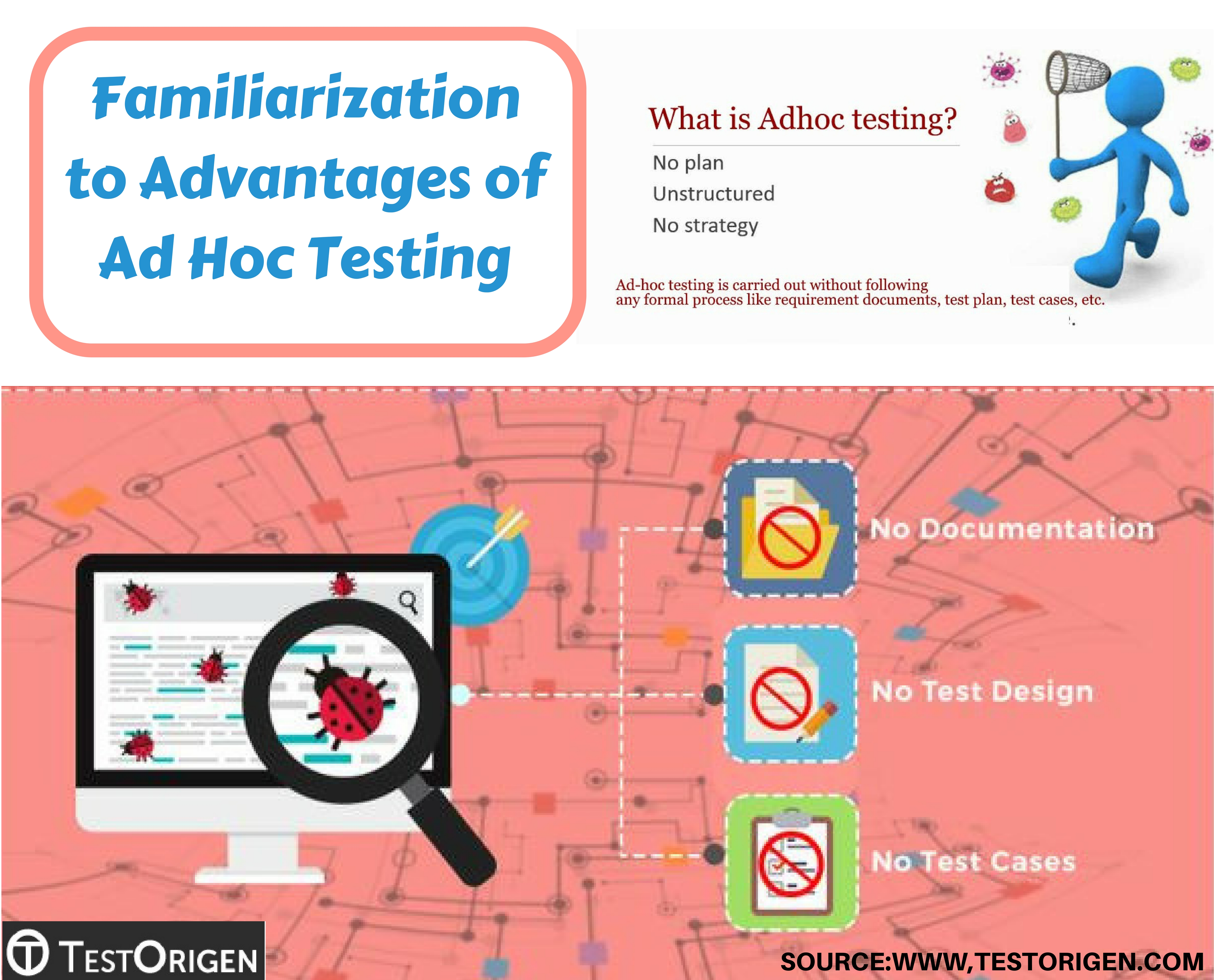 Familiarization to Advantages of Ad Hoc Testing. ad hoc testing in software  testing