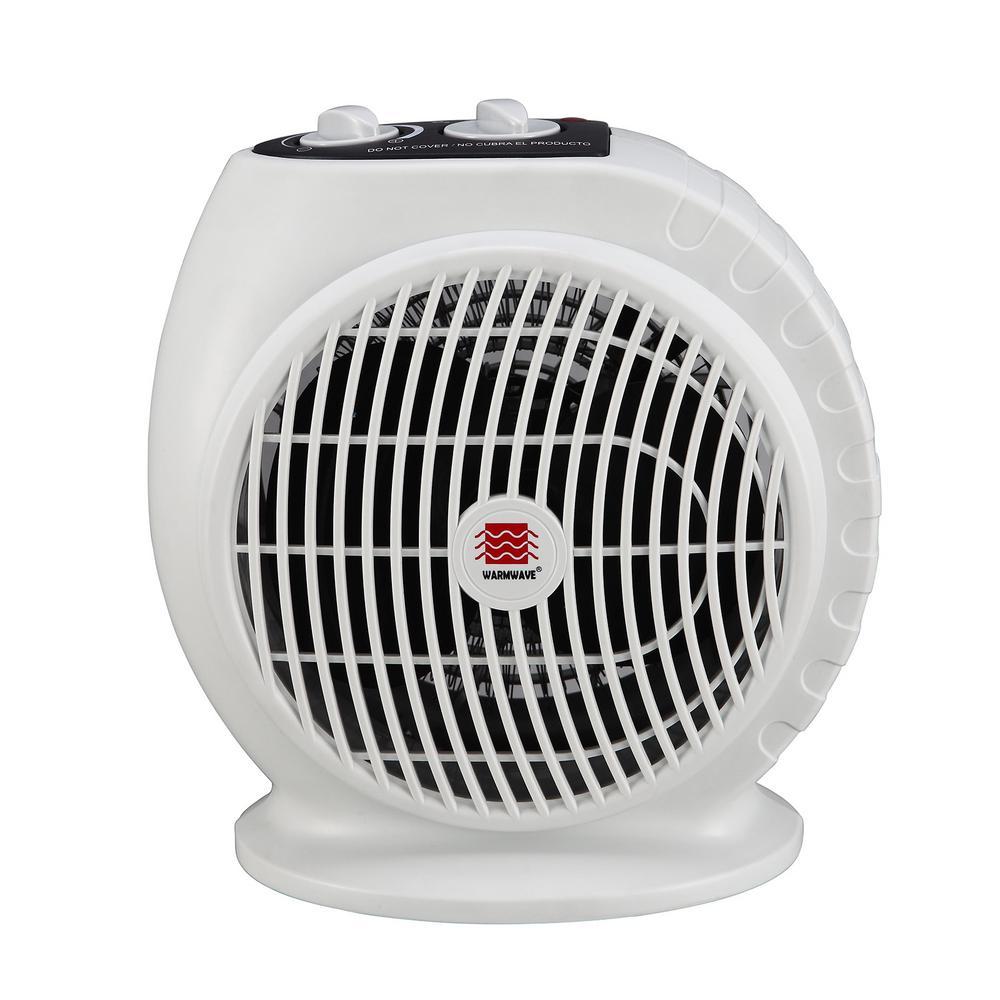 Warmwave 1,500-Watt Electric Fan Portable Heater