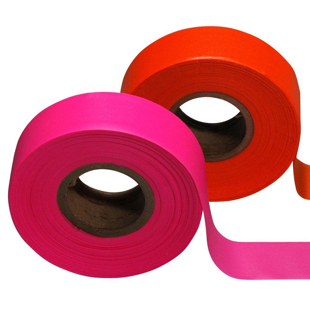 Safety Flag 1-3/16 in. x 150 ft. Flagging Tape (