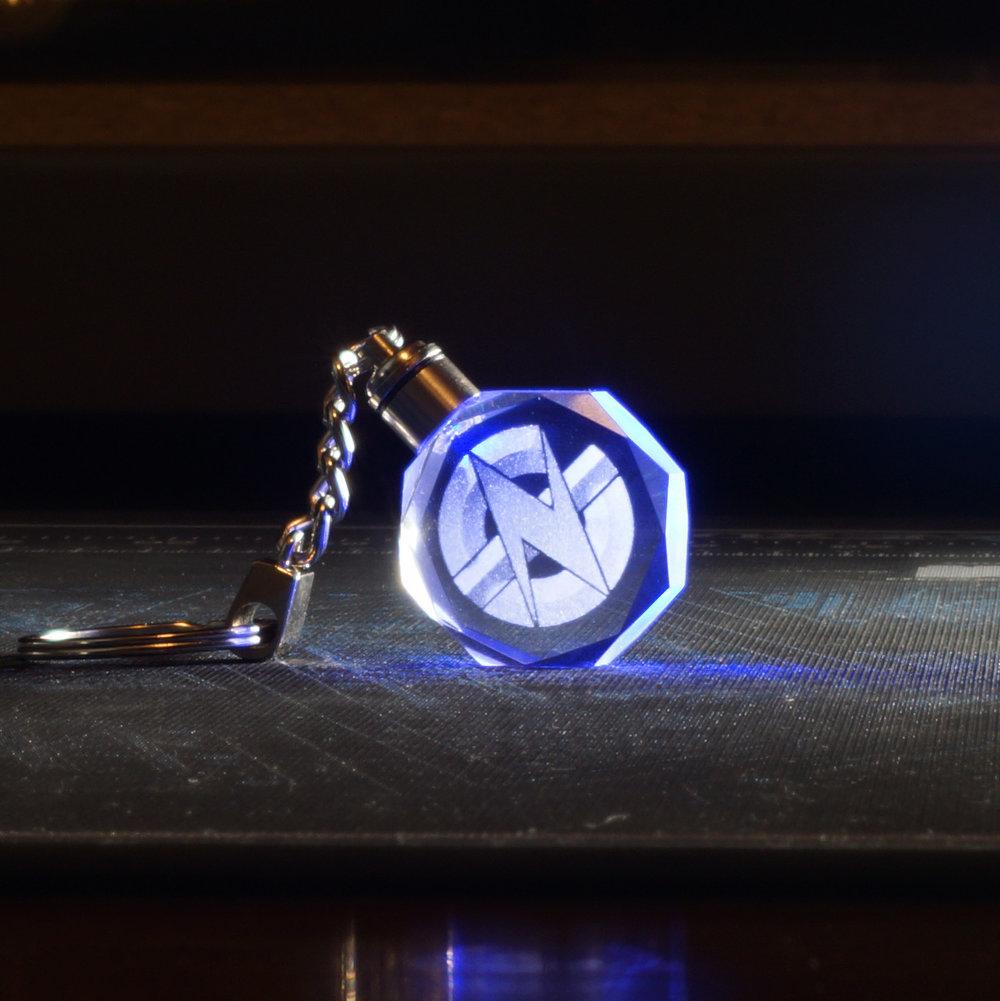 GN Logo Keychain (Blue LED)