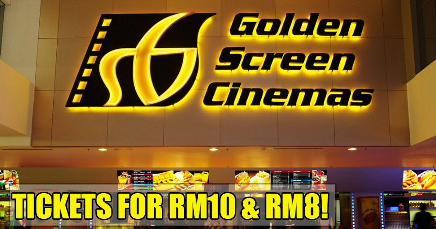 GSC is Offering Movie Tickets From As Low As RM8 Until 28 Sept 2018!