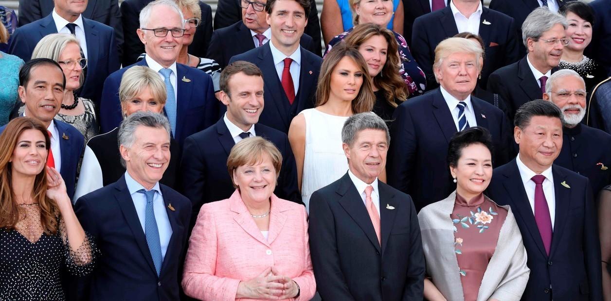 Ultima Cumbre del G20 en Hamburgo, Alemania, Julio, 2017. AFP PHOTO / AFP  PHOTO AND POOL / l