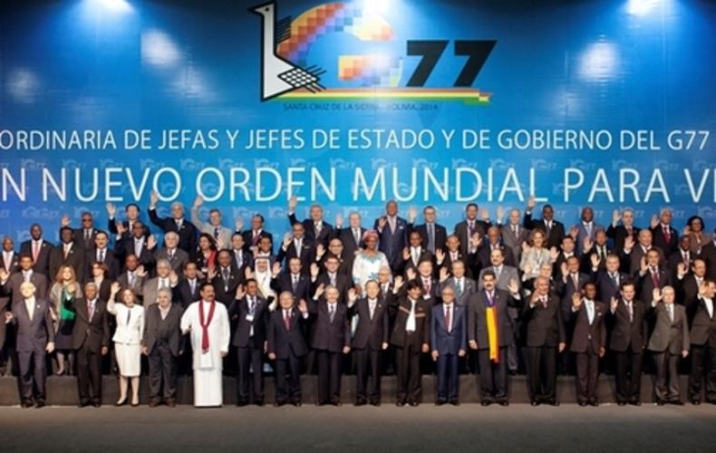 G77+China, promueve nuevo orden en el comercio y las finanzas  internacionales
