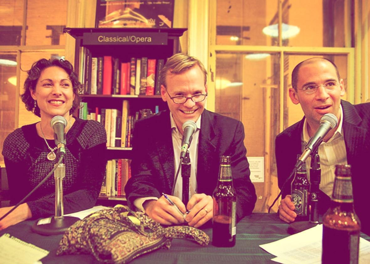 Emily Bazelon, John Dickerson, and David Plotz.
