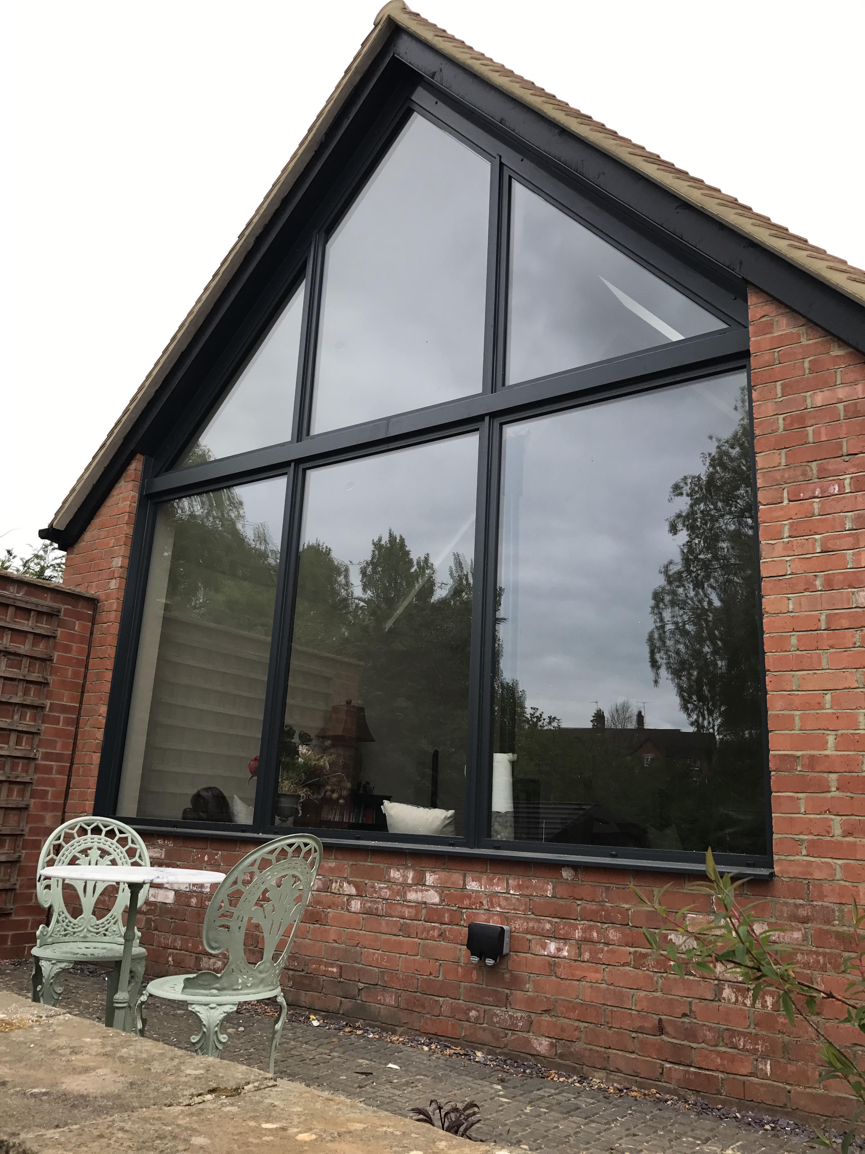 Aluminium Gable Window