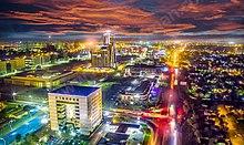 Gaborone CBD at Night