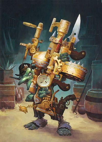 Grimy Gadgeteer, full art