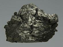 A sample of gadolinium metal