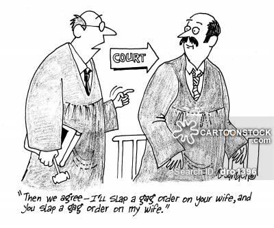 Gag Order cartoon 7 of 7