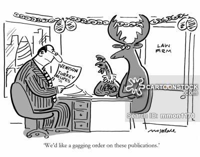 Gag Order cartoon 6 of 7