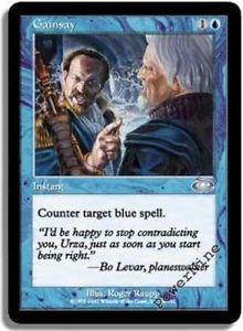 La foto se está cargando 1-Lamina-Gainsay-Azul-Planeshift-MTG-Magic-poco-